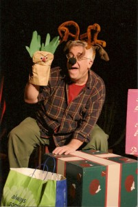 "Beach vickers as ""Donner"" in ""The Eight: The Reindeer Monologues."""